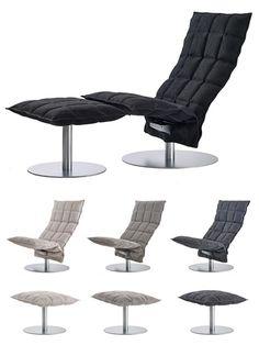 Woodnotes K-tuoli kruunaa oleskelutilan paitsi upealla ilmeellään myös todella miellyttävänä istuimena. Vaihdettava, paperinaru-puuvillakankaasta valmistettu päällinen on luonnollisen näköinen toppauksen ansiosta se tekee tuolista juuri sopivan muhkean näköisen. K-tuolin pyörivä malli on mitä mainioin valinta lepotuoliksi. Yhdessä rahin kanssa se muodostaa olohuoneen takuuvarman suosikkipaikan. Myynnissä Finnish Design Shopissa