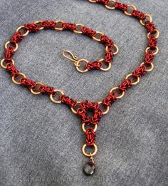 Carissa chainmaille necklace