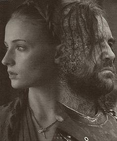 Sandor & Sansa - Sandor and Sansa Fan Art (31589214) - Fanpop