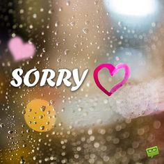 """Are you in search for a way to express your most sincere apologies to someone? If you are longing to seek forgiveness, check out these """"I'm sorry"""" quotes. Cute Love Quotes, Love Quotes For Her, Cute Love Images, Sorry Images, Miss You Images, Im Sorry Quotes, Sad Quotes, Amor Quotes, Quotes Inspirational"""