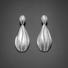 """Ohrringe """"Volterra Fiume"""" are Brilliant Drop Earrings, Silver, Jewelry, Ear Rings, Jewellery Making, Jewerly, Drop Earring, Jewlery, Jewelery"""