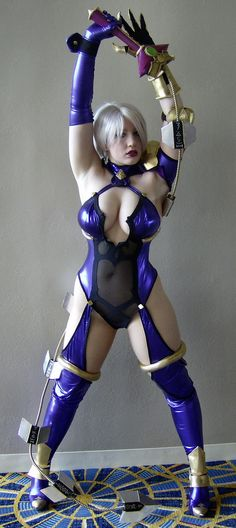 Ivy Soul Calibur Cosplay