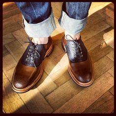 pauwmannen:  New Arrivals - Tricker's #pauwmannen #menswear #menstyle #menfashion #shoes #trickers (bij Pauw Mannen Luxury Denim)
