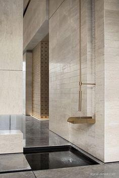 Church Architecture, Architecture Details, Interior Architecture, Wall Cladding Designs, Hotel Corridor, Modern Interior, Interior Design, Living Styles, Minimalist Decor