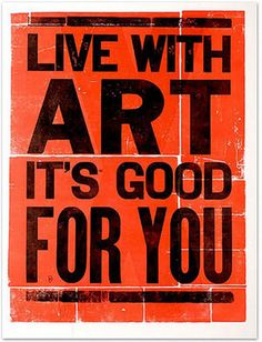 arts good for you