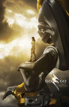 El Puffs. Poster de personajes #PowerRangers Ranger Yellow #GoGoPowerRangers #CharacterPoster