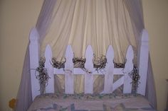 How to Make a Country Garden, Picket Fence Headboard - Yahoo! Voices - voices.yahoo.com