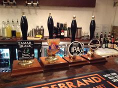 Cask beers from Holsworthy Ales, Havant Brewery, Firebrand Brewing Co and Penpont Brewery http://firebrandbar.co.uk/?p=2509