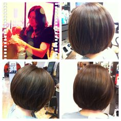 Alejandra is still serious about sexy hair.  #short #bob #hairstyle