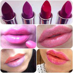 multicolored lips!!