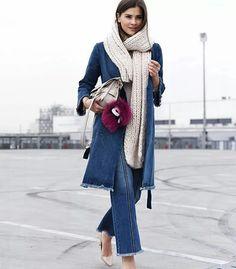la web influencer nina del blog fashiioncarpet sceglie un total look in denim della collezione stefanel PE2016  #stefanel #stefanelvigevano #vigevano #lomellina #piazzaducale #springsummer2016