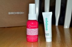 We are in October's Birchbox! Here are some awesome fan photos! #BirchBox #BirchBoxOctober #Evologie #BeautyPics #Instagram #GoodByeAcne #ClearSkin #HealthySkin #BeautyTricks