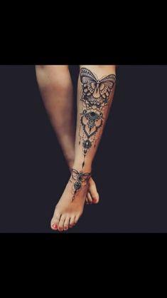 Tattoo Info – Tattoos And Henna Tattoos, Neue Tattoos, Lace Tattoo, Mehndi Tattoo, Henna Tattoo Designs, Body Art Tattoos, Tribal Tattoos, Cool Tattoos, Butterfly Mandala Tattoo