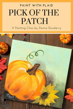 Learn to Paint with Donna Dewberry. Donna taught the Paint with Plaid, learn to paint class. Fall Canvas Painting, Autumn Painting, Autumn Art, Canvas Paintings, Fall Paintings, Painted Canvas, Painted Wood, Acrylic Painting Tutorials, Diy Painting