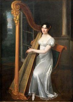 Жозефина Фридрихс (1778/1780—1824), фаворитка вел.кн. Константина Павловича.1810-е