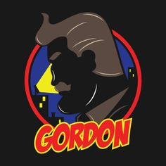 Awesome 'Gordon' design on TeePublic!
