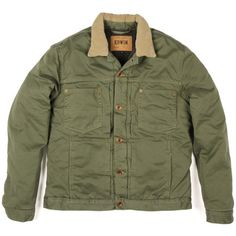 Edwin Denim Panhead Jacket Lined Sage Cuero Negro 6a7d56f5fd54c