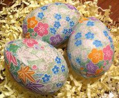 origami paper eggs