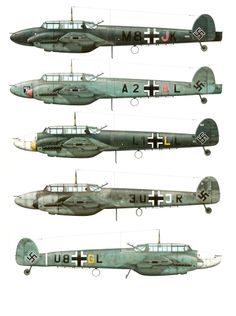 Messerschmitt Bf 110 ~ BFD