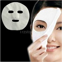 RY US Seller 100 Pcs DIY White Color Natural Spa Skin Care Treatment Fiber Face Masks Nonwoven Precut Facial Paper Sheet Facial Mask -- Visit the image link more details. (This is an affiliate link) Beauty Tips For Hair, Natural Beauty Tips, Beauty Hacks, Hair Beauty, Facial Skin Care, Facial Masks, Spa Facial, Mask Paper, Diy Beauty Face Mask