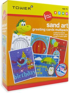 Enjoy all your favourite designs in one pack! These multipacks are the ultimate 'edutainment' product that will keep kids entertained for hours while having fun learning! Sand Bag, Glitter Birthday, Fun Learning, Puzzles, Alphabet, Have Fun, Arts And Crafts, Africa, Greeting Cards