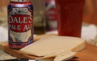 Parmesan Reggiano with Oskar Blues Dale's Pale Ale - beer pairing