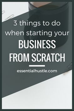 If I had to start a business from scratch again, here are 3 things I would do differently (and things you should do now).