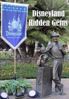 Hidden Gems of Disneyland and Disney California Adventure parks in California.  this list includes freebies, special touches, treasures, and unique experiences that many guests overlook when visiting Disneyland.  Click this pin or see http://www.buildabettermousetrip.com/disneyland-gems/  #Disneyland