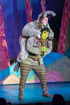 Love love love NWCT's Shrek costume, particularly the aviator hat. Would like better in brown.