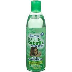 TropiClean Fresh Breath Water Additive Plus Skin Coat Oral Care Pets Cats 16z