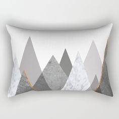Our Rectangular Pillow is the ultimate decorative accent to any room. copper, black, gold, chevron, pattern, geometry, concrete, geometric, minimalist, seamless, stripes, scandinavian, nordic, mid century, wall art, home decor, scandi design, tapestries, duvet cover, interior design, bedroom, living room, dorm,society6