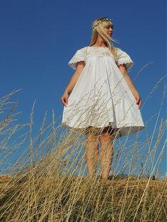 Berry dress by adjushka - SAShE.sk - Handmade Šaty - handmade folk dress