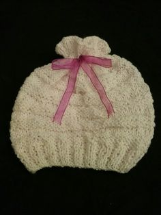 Gorro para baby girl !!!! By Zues!