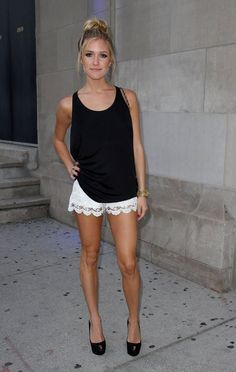kristin cavallari lace shorts - PurseForum