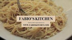 """Fabio's Kitchen: Episode 8, """"Spaghetti Cacio e Pepe"""""""