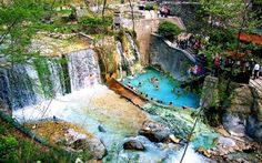 Archaeological Site, Travel Maps, Cool Photos, Greece, Waterfall, Places To Visit, City, Beach, Nature
