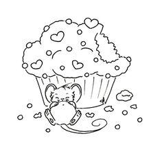 Sliekje digi Stamps... illustrations mignonnes qui pourraient être utilisées pour la broderie 8322   coloriage à imprimer