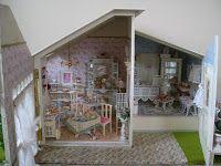 Lindas Miniature Musings: Shabby Chic Tea Salon
