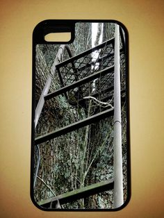 Hunting Tree Stand Phone Case for iPhone 4 or 4S - Samsung Galaxy S II or III - Blackberry 9900 - Samsung Note or Note II on Etsy, $20.00