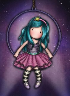 Cute Images, Cute Pictures, Cute Girl Illustration, Doll Drawing, Cute Cartoon Girl, Hand Art, Rock Crafts, Cute Cartoon Wallpapers, Cute Dolls