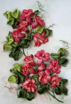 SILK RIBBON EMBROIDERY                                                       …