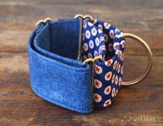 Martingale dog collar model Born in the USA. Adjustable por Wakakan