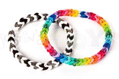 nice How to make a Classic Single Double Capped/Looped Rainbow Loom Bracelet