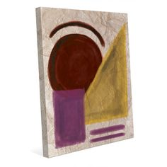 "Click Wall Art Making Noise Painting Print on Wrapped Canvas Size: 30"" H x 20"" W x 1.5"" D"