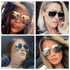 Feirinha Chic : Dior Split - O óculos aviador desejo da estação