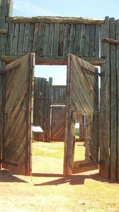 Entrance to Andersonville Prisoner of War Camp, Andersonville National Historic…
