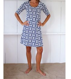 So #Nautical! Claire Dress from Mahi Gold