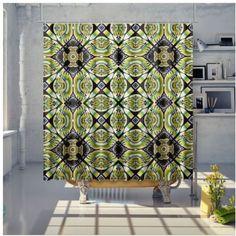 Shower Curtain Bathroom Curtains, Samba, Sunday, Shower, Retro, Diamond, Prints, Rain Shower Heads, Domingo