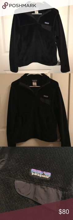 Patagonia Re-Tool Snap-T Pullover super cute, warm and comfy pullover from patagonia. barely worn - just grew out of it too quickly! pet friendly smoke free home Patagonia Jackets & Coats