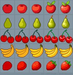 Fruits Tutorial